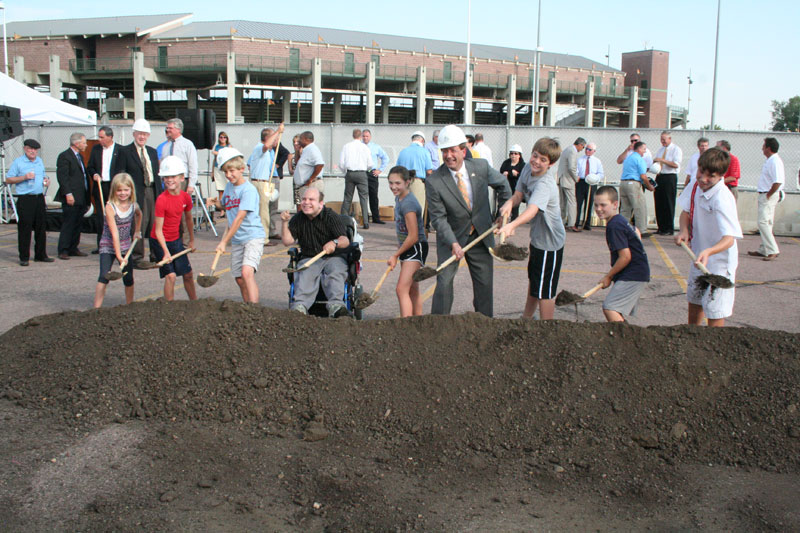 Events Center Groundbreaking