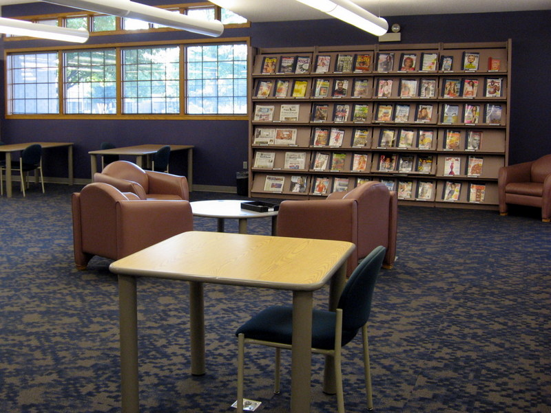 Ronning Reading Area